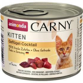 ANIMONDA CARNY KITTEN консервы для котят с говядиной и домашней птицей