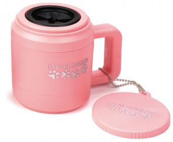 PAW PLUNGER Лапомойка малая розовая для собак мелких пород и кошек