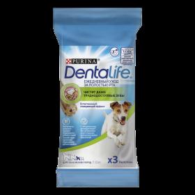 DentaLife ,лакомство для собак мелких пород, уход за полостью рта