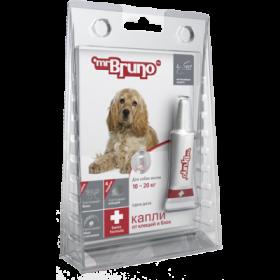 Mr.Bruno Plus - капли инсектоакарицидные для собак  10-20 кг