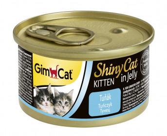 GimCat, ShinyCat консервы для котят из тунца