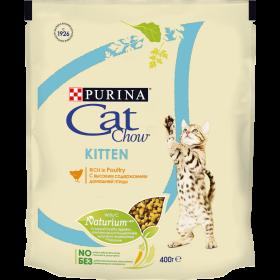 Purina Cat Chow, сухой корм для котят для беременных и кормящих кошек, с высоким содержанием домашней птицы