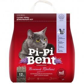 Pi-Pi Bent Нежный Прованс наполнитель комкующийся, 5 кг пакет