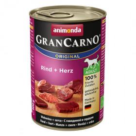 ANIMONDA GRAN CARNO ADULT консервы для собак с говядиной и сердцем 400 гр.