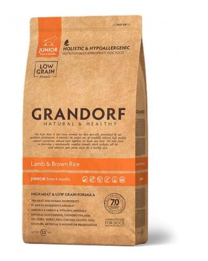 Сухой корм GRANDORF Ягнёнок с рисом для юниоров в возрасте от 4 месяцев, беременных и кормящих сук