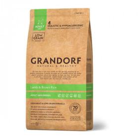 Сухой корм GRANDORF Ягнёнок с рисом для собак мини пород от 1 года