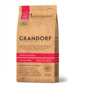 Сухой корм GRANDORF Ягнёнок с рисом для собак всех пород от 1 года