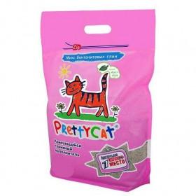 Pretty Cat Euro Mix наполнитель комкующийся с ароматом алоэ вера, 2,5 кг
