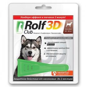 ROLF CLUB капли инсектицидные для собак 20-40 кг
