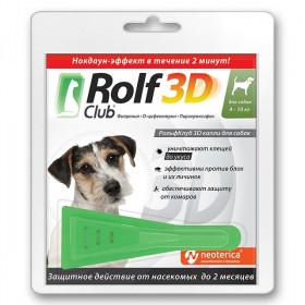 ROLF CLUB капли инсектицидные для собак 4-10 кг