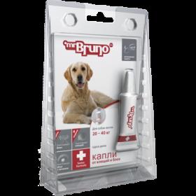 Mr.Bruno Plus - капли инсектоакарицидные для собак  20-40 кг