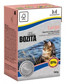 BOZITA Feline Funktion Large Tetra Pak кус.в желе д/взрослых и молодых кошек крупных пород (190г)