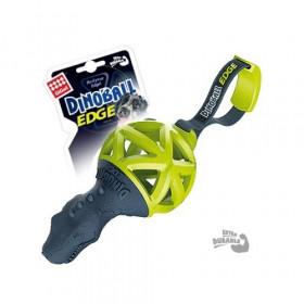 """GiGwi 75428 Игрушка для собак """"DINOBALL"""" Динобол Т-рекс черно-зеленый"""