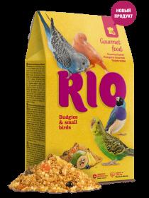 RIO Гурмэ корм для волнистых попугайчиков и мелких птиц