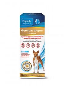 Фенпраз  Форте суспензия антигельминтик для средних пород собак, 10 мл