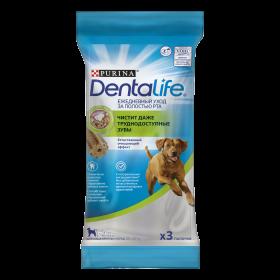 DentaLife, лакомство для собак крупных пород, уход за полостью рта