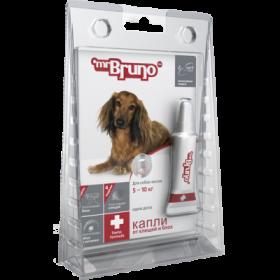 Mr.Bruno Plus - капли инсектоакарицидные для собак 5-10 кг