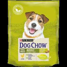 Dog Chow (Дог Чау). Корм сухой полнорационный для взрослых собак мелких пород, с курицей