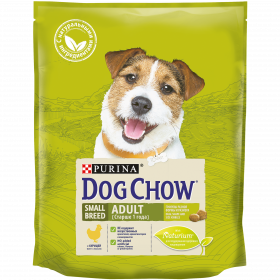 Dog Chow Корм сухой для взрослых собак мелких пород с курицей
