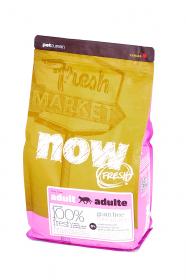 NOW Fresh Adult Cat беззерновой сухой корм для кошек с Индейкой, Уткой и Овощами