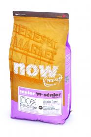 NOW Fresh Senior Cat Контроль веса, беззерновой сухой корм для пожилых кошек Индейка,Утка,овощи