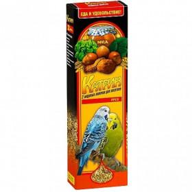 Катрин ЛП-2103 Лакомство для попугаев медово-ореховые