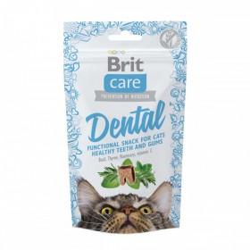 Brit Care лакомство для кошек Dental для очистки зубов