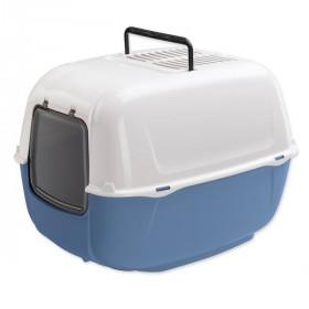 Ferplast  PRIMA  туалет для кошек  угольный, закрытый, синий