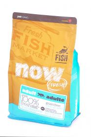 NOW Fresh Adult Cat беззерновой сухой корм для кошек с Форелью и Лососем для чувствительного пищеварения