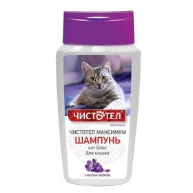 Чистотел Максимум шампунь для кошек от блох, 180 мл