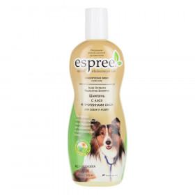 Espree Шампунь с алоэ и протеинами овса для собак и кошек, 355мл