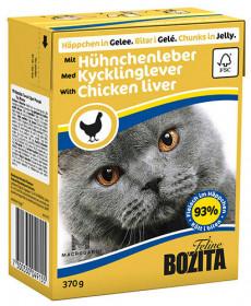 Feline Chicken Liver Tetra Pak кус.в желе с курин. печенью д/кошек (370г)