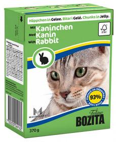 BOZITA Feline Rabbit Tetra Pak кус.в желе с кроликом д/кошек (370г)