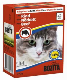 BOZITA Feline Beef Tetra Pak кус. в соусе с говядиной д/кошек (370г)