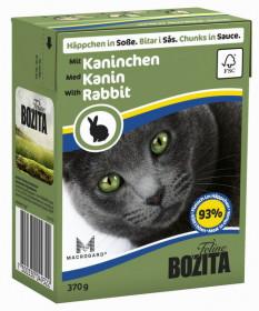 BOZITA Feline Rabbit Tetra Pak кус. в соусе с кроликом д/кошек (370г)