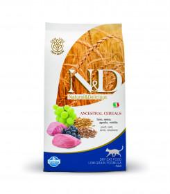 Сухой корм для кошек Farmina N&D, с ягненком и черникой