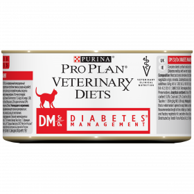 Pro Plan Veterinary Diets DM с говядиной, 195 г