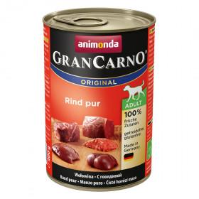 ANIMONDA GRAN CARNO ADULT консервы для собак с говядиной 400 гр.