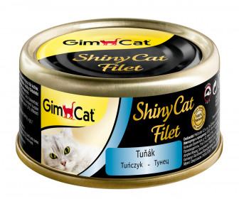 GimCat, ShinyCat Filet консервы для кошек из тунца
