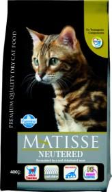 Farmina Matisse Neutered сухой корм для взрослых стерилизованных кошек и кастрированных котов.
