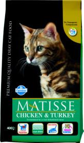 Farmina Matisse  chicken & turkey  корм для взрослых кошек с курицей и индейкой