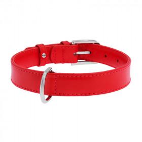 CoLLaR Glamour Ошейник красный, ширина 9 мм, длина 19-25 см