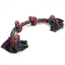 TRIOL (ТРИОЛ) Игрушка для собак, веревка 4 узла 540мм 0038XJ