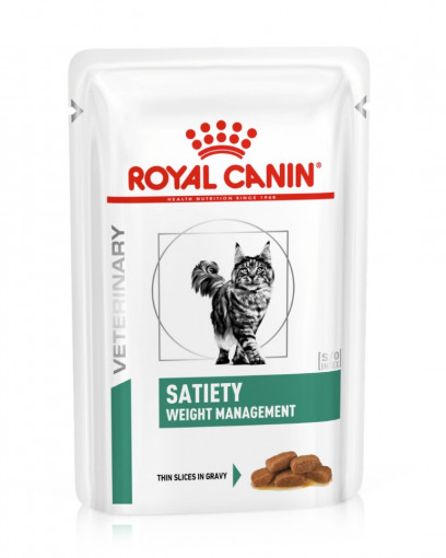 Корм для кошек Royal Canin Satiety Weight Management, 85 г