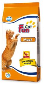Farmina Fun Cat Meat сухой корм для взрослых  кошек  всех пород  с мясом