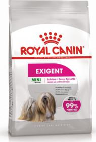 Корм для собак Royal Canin Mini Exigent adult для привередливых собак мини пород старше 10 месяцев