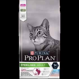 Pro Plan сухой корм для стерилизованных кошек и кастрированных котов, с высоким содержанием трески и c форелью