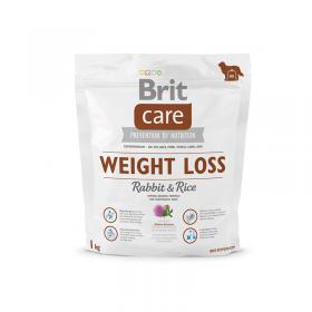 Brit Care Weight Loss для собак склонных к полноте, кролик с рисом