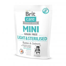Brit Care MINI GF Light & Sterilised беззерновой для собак мини-пород с избыточным весом/стерилизованных