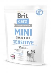 Brit Care MINI GF Sensitive беззерновой корм для собак мини-пород с чувствительным пищеварение